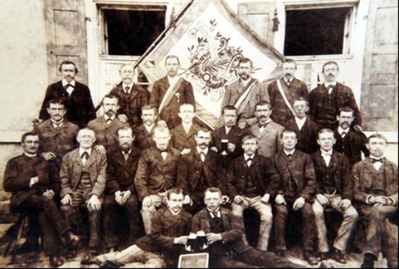 Gesangverein Höringen im Gründungsjahr 1888