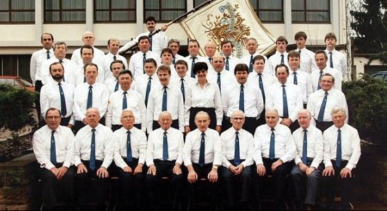 Gesangverein 1888 Höringen e.V. im Jubiläumsjahr 1988