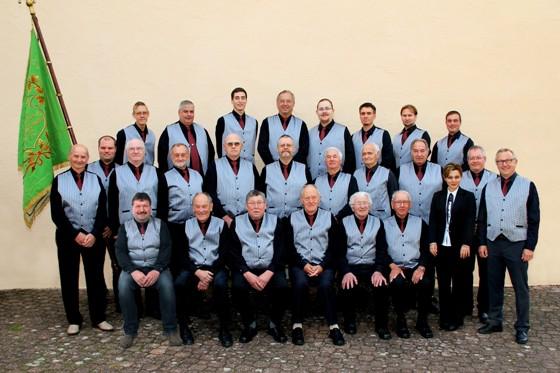 Gesangverein 1888 Höringen e.V. - Der Männerchor im Jubiläumsjahr 2013